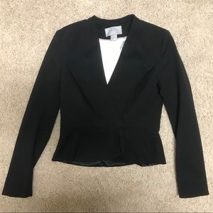 H&M Woman's Black Suit Jacket - Size 4